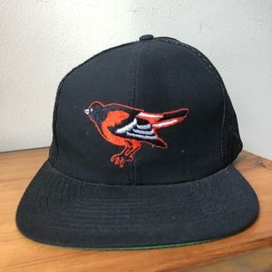 Other - Vintage Baltimore Orioles Snap Back Hat NWT